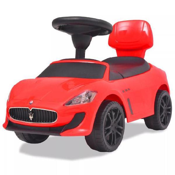 Vidaxl auto per bambini maserati 353 rossa
