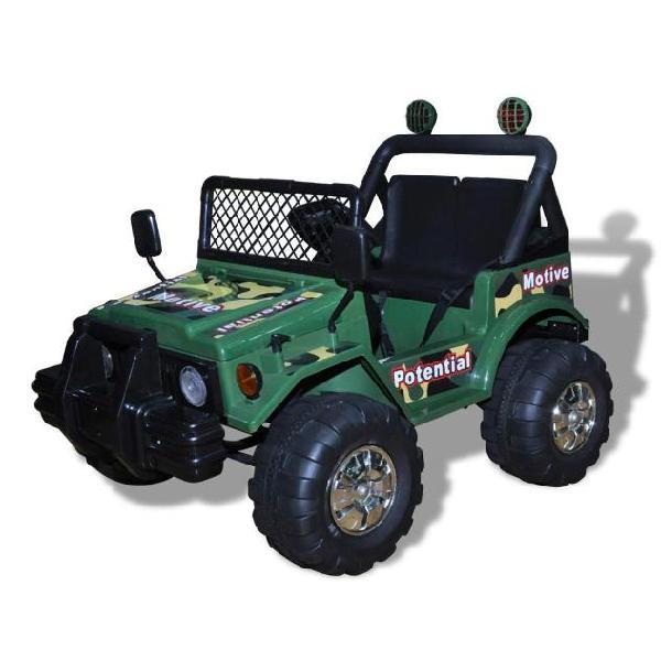 Vidaxl automobile elettrica per bambini a motore due bambini