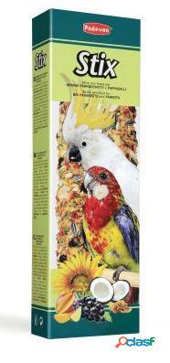 Padovan stix parrocchetti e pappagalli gr 150 pz 2