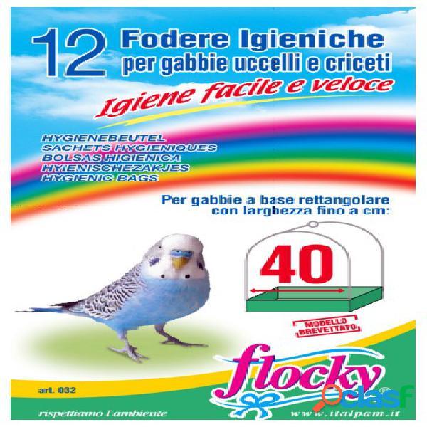 Italpam fodere gabbie uccelli 40 cm pz 12