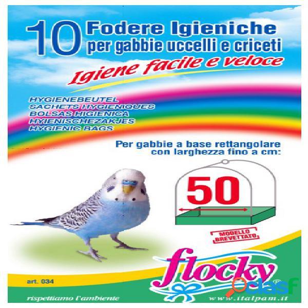 Italpam fodere gabbie uccelli 50 cm pz 10