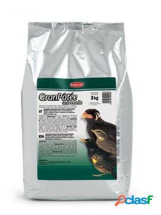 Padovan granpatèe universale per uccelli insettivori kg 3
