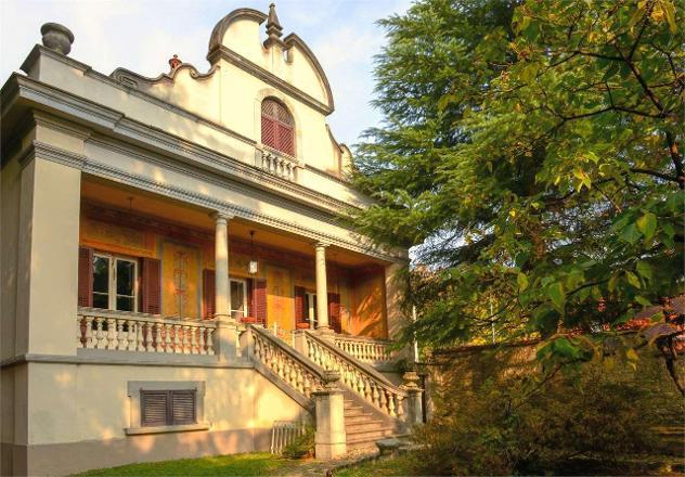 21531047-43 - cittiglio, villa storica con ampio giardino