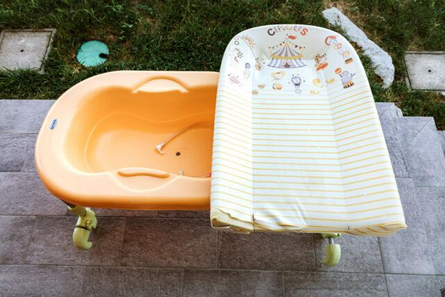 Brevi bagnetto fasciatoio da vasca bagnotime rever