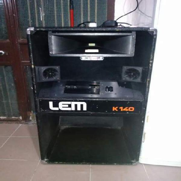 Casse lem k140 amplificate
