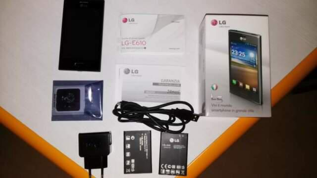 Lg optimus l5 e610 nero + 2 batterie