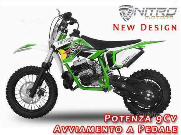Motorbimbo Nitro Motors Ammortizzatore Minimoto Minicross 49cc