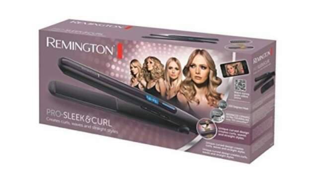 Piastra stretta per capelli professionale, remington