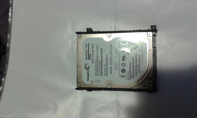 "Hard disk interno seagate 2,5"" 500 gb sata pc hdd hd"
