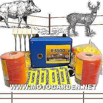 Kit recinzione elettrica per animali da cortile