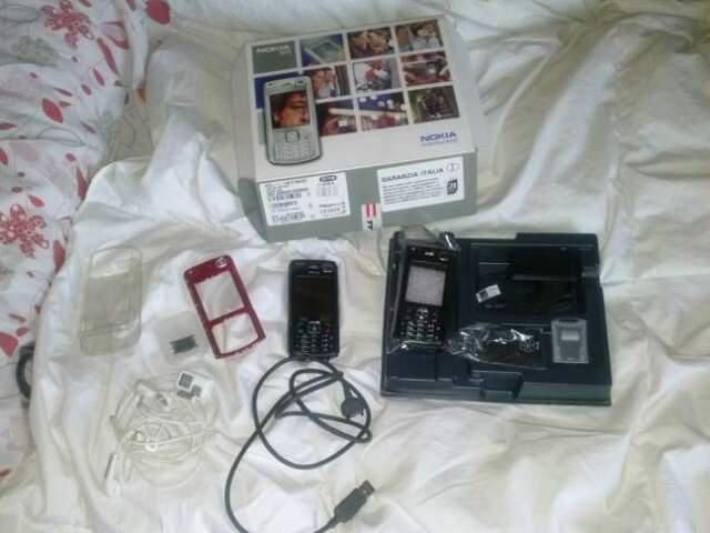 Nokia n70 come nuovo completo di accessori