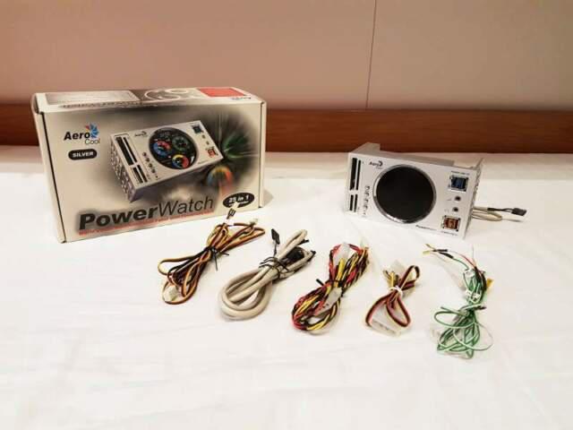Pannello multifunzione aerocool powerwatch