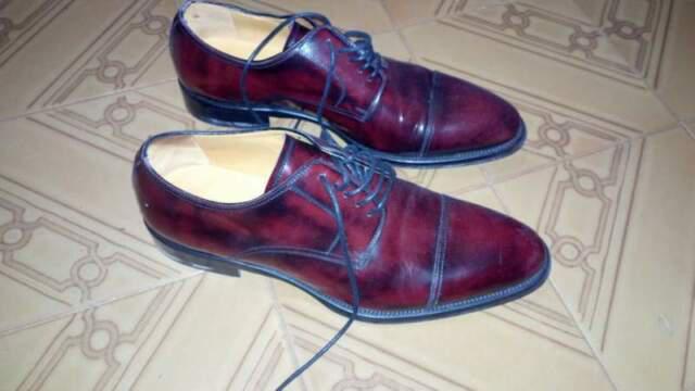 Scarpe angelo nardelli calzature in pelle nuove tg 41