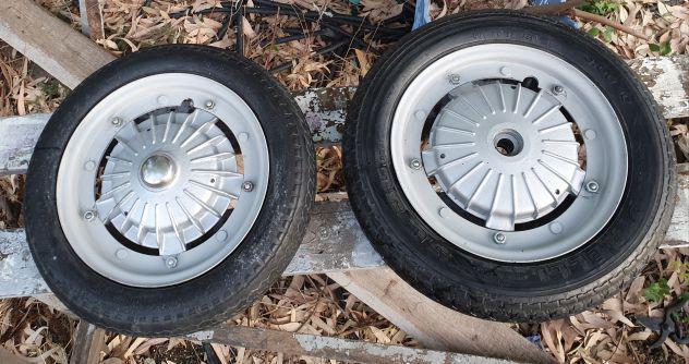 Vespa 50 r/ special ruote complete da montare