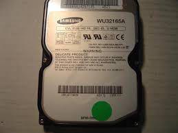 hard disk samsung wu32165a 2,16 gb
