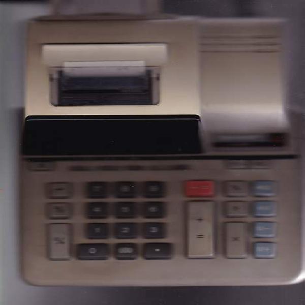 Anni '90 sharp calcolatrice elettronica stampante
