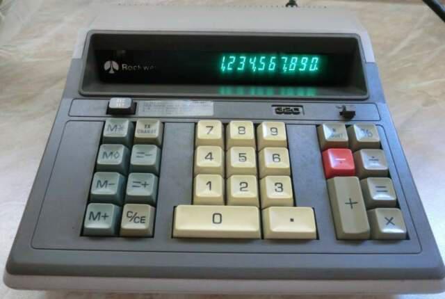 Calcolatrice rockwell 320