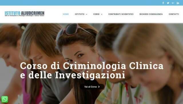 Corso di criminologia clinica
