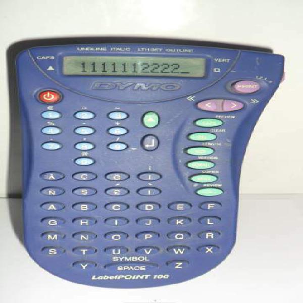 Etichettatrice professionale portatile elettronica