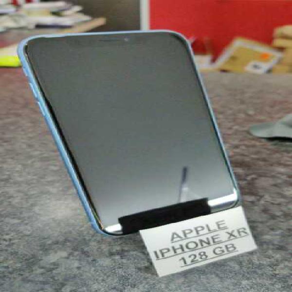 Iphone xr 128 gb blu usato perfetto
