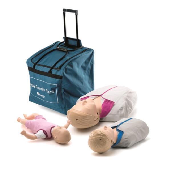 Little family pack qcpr laerdal manichini nuovi
