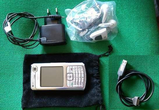 Nokia n70 cellulare usato