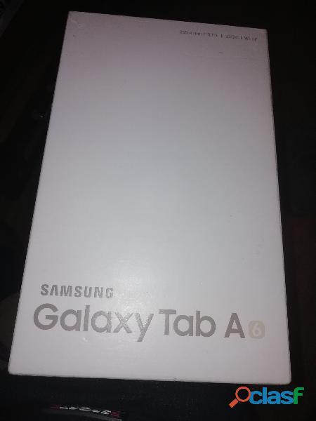 modello tablet samsung tab a colore bianco