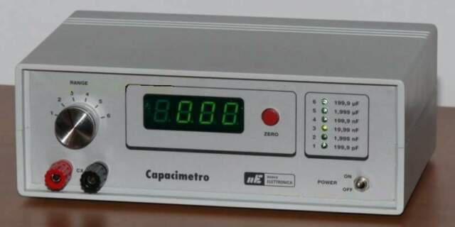 Capacimetro nuova elettronica