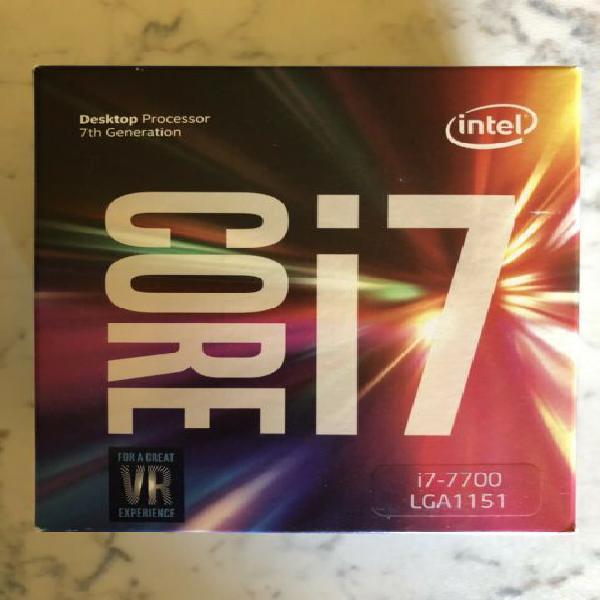 Cpu intel i7-7700 3,6ghz lga 1151