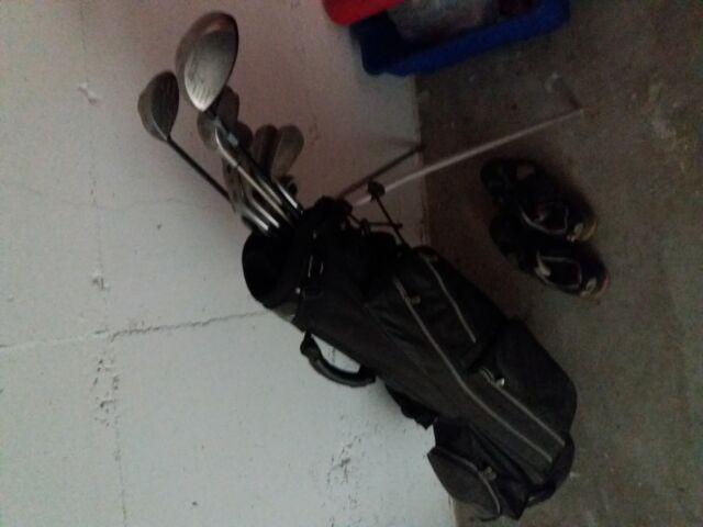 Set mazze da golf usato completo di sacca