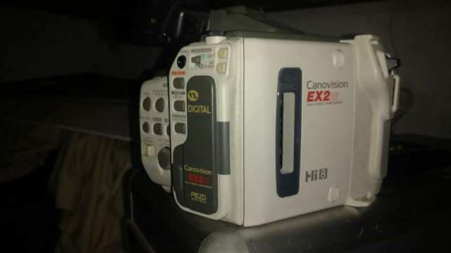 Canon canon ex2 hi8mm