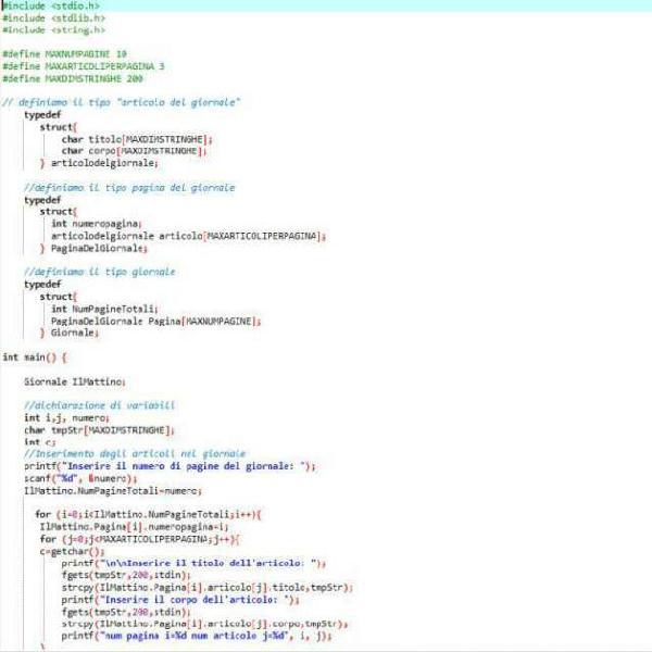 Corso con attestato finale programmazione c/c++