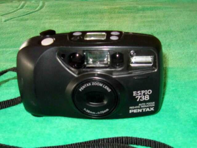 Pentax espio 738 fotocamera analogica compatta
