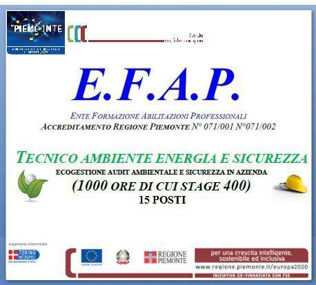 Tecnico ambiente energia e sicurezza
