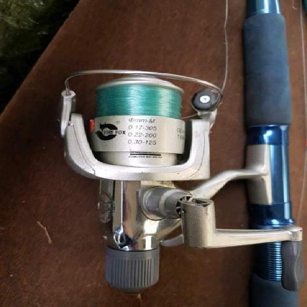 Canna da pesca + mulinello