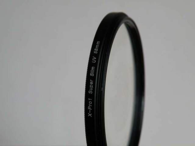 Heliopan anello adattatore Nero Filtro 60 mm//ottica 58 mm Ottone
