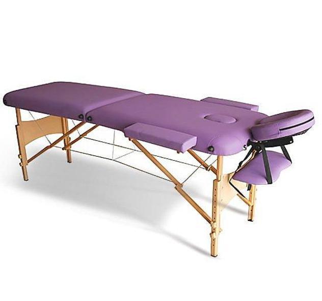 Lettino da massaggio fisioterapia pieghevole con 2 zone