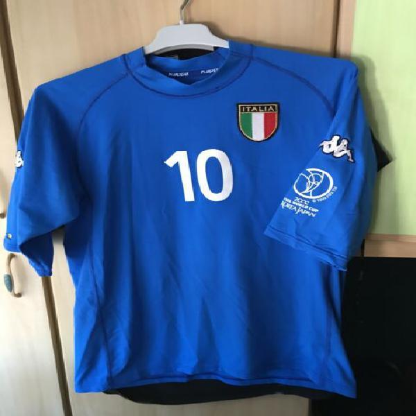Maglia nazionale italiana 2002 totti #10 xl