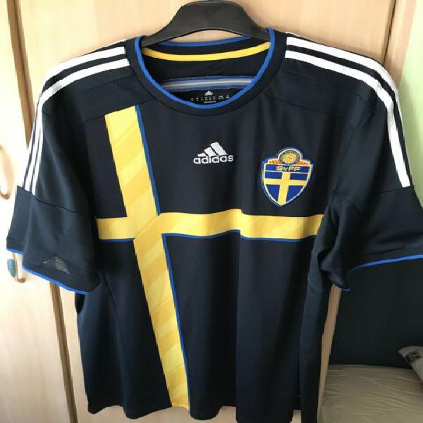Maglia nazionale svedese 2014-2015 ibrahimovic #10 xl