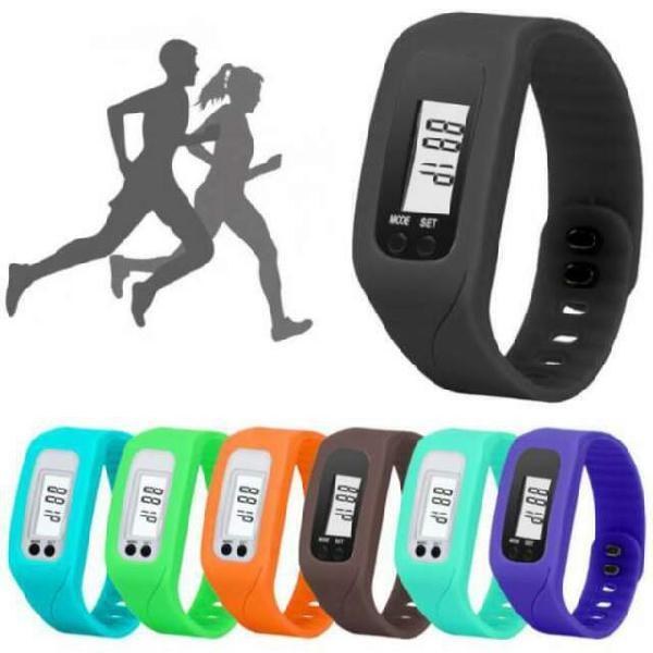 Nuovo orologio contapassi calorie per fitness