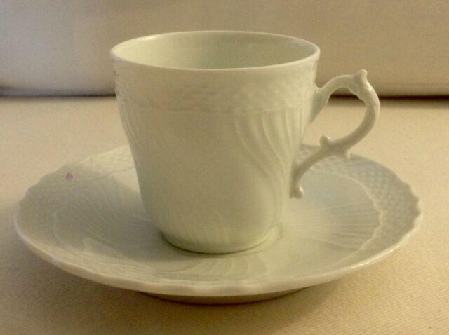 Servizio tazzine caffe porcellana bianca richard ginori