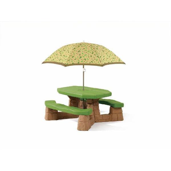 Step2 tavolo da picnic con ombrellone