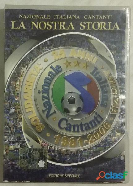 Dvd nazionale italiana cantanti la nostra storia edizione speciale 2004