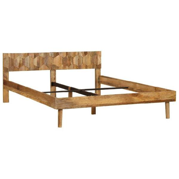 Vidaxl giroletto in legno massello di mango 1,6m