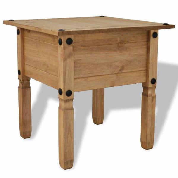 Vidaxl tavolino in legno di pino messicano corona range