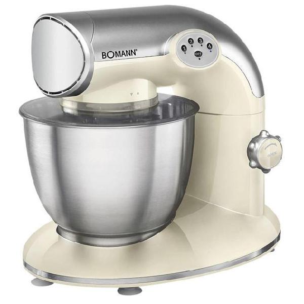 Bomann mixer 1200 w crema e argento km 305 cb