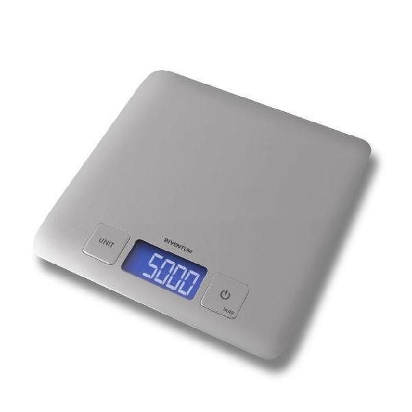 Inventum bilancia da cucina argento 5 kg ws335