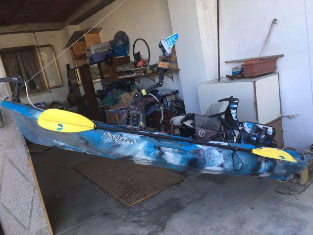 Kayak da pesca feelfree lure 10 + altro