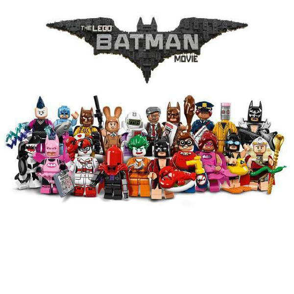 Lego minifigures serie the batman movie