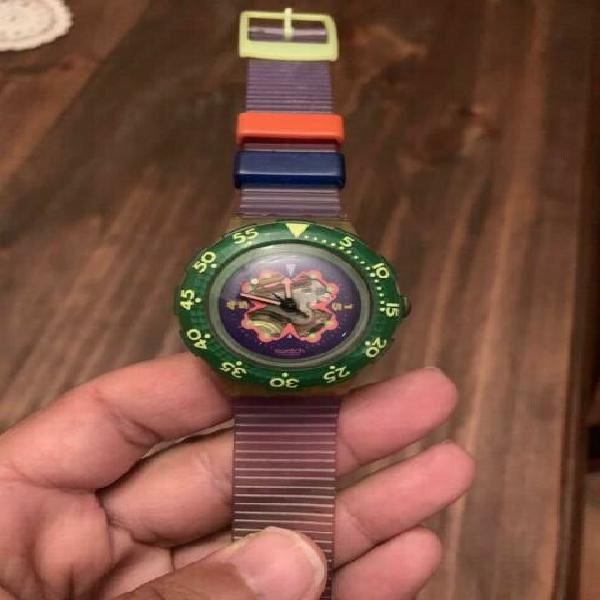 Orologio swatch scuba vintage anni 90